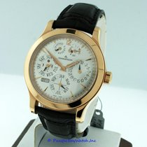 Jaeger-LeCoultre Master Eight Days Perpetual Rose gold 42mm Silver United States of America, California, Newport Beach