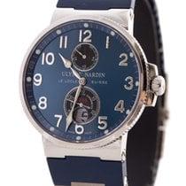 Ulysse Nardin Maxi Marine Chronometer Blue Dial 200M