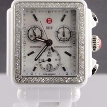 Michele Mww06f000002 Deco Diamond Mother Of Pearl Ladies White...