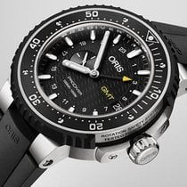 Oris ProDiver GMT Titanium 49mm Black