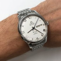 Omega De Ville Co-Axial Steel 41mm Silver Roman numerals United States of America, New York, NYC