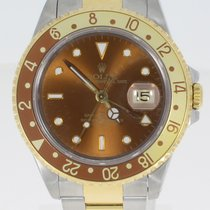 Rolex GMT-Master II 16713 Very good Gold/Steel 40mm Automatic