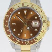 Rolex 16713 Aur/Otel GMT-Master II 40mm folosit
