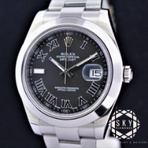 Rolex Datejust II Stål 41mm Svart