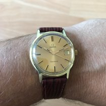 Omega Yellow gold Manual winding 35mm pre-owned Genève