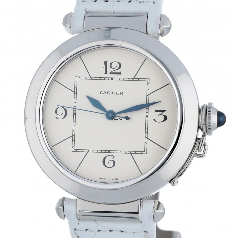 cb83092df1ad4 Cartier Pasha W3107255 2730 Steel 42mm for $4,508 for sale from a Trusted  Seller on Chrono24