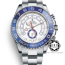 Rolex Yacht-Master II Steel 44mm White No numerals United States of America, New York, NEW YORK