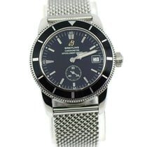 Breitling pre-owned Automatic 38mm Black Sapphire Glass 20 ATM