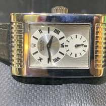 Rolex Cellini Prince pre-owned Silver Leather