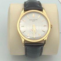 Patek Philippe Calatrava Rose gold 37mm Silver No numerals United States of America, California, Los Angeles