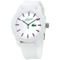 Lacoste new Quartz 43mm Steel Mineral Glass