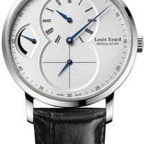 Louis Erard Excellence Acero 40mm Plata