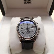 Montblanc White gold Automatic 41mm pre-owned Star