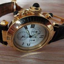 Cartier Pasha 1353-1 YG  S/BDR CAIMAN 1993 gebraucht