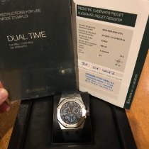 Audemars Piguet Royal Oak Dual Time new 2017 Automatic Watch with original box and original papers 26124ST.OO.D018CR.01