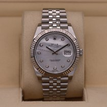Rolex Datejust Steel 41mm Mother of pearl No numerals