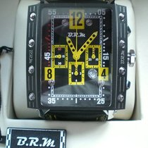 B.R.M Chronograph 51mm Automatik 2013 neu Schwarz