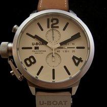 U-Boat Chronograph 50mm Automatik 2012 gebraucht Schwarz