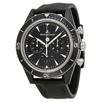 Jaeger-LeCoultre Deep Sea Chronograph Ceramic 44mm Black No numerals United States of America, New York, Greenvale