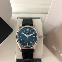 IWC Pilot's Watch Automatic 36 Stahl 36mm Blau
