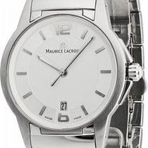 Maurice Lacroix Miros Acero 35,0mm Plata Sin cifras