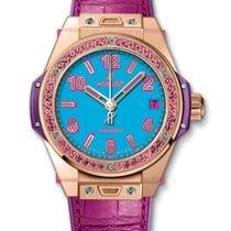 Hublot : 39mm Big Bang One Click Pop Art King Gold Rose Watch