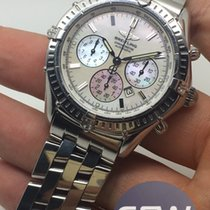 Breitling Windrider Shadow Flyback Mother Of Pearl