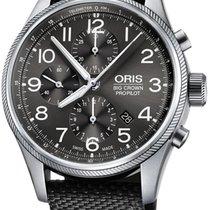 Oris Big Crown ProPilot Chronograph Steel 44mm Grey United States of America, New York, Airmont