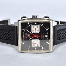 "TAG Heuer Monaco Chronograph ""Black McQueen"""