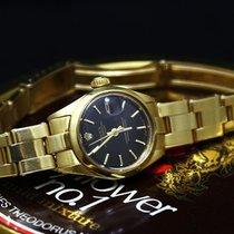 Rolex - Datejust Purple Ladies - Yellow Gold