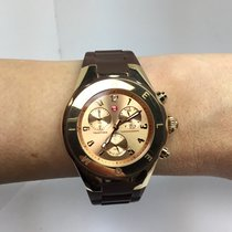 Michele Tahitian Red gold