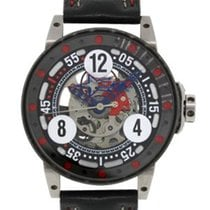 B.R.M V6-046 DeFrancesco Racing Sport Watch on Leather Strap...