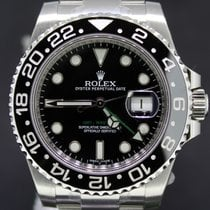 Rolex GMT-Master II Steel Ceramic Black Dial, 40MM Box&Papers