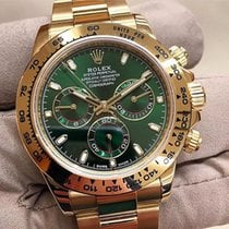 Rolex Daytona Yellow Gold Green Dial 2018