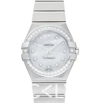 歐米茄 Constellation Quartz Mother-Of-Pearl Dial Watch 24mm - 123.1