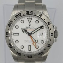 Rolex Explorer II Steel 42mm White United States of America, Florida, MIAMI