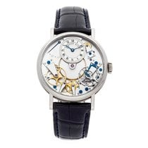 Breguet White gold Manual winding 37mm Tradition