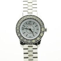 Dior Staal Quartz Christal tweedehands