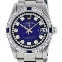 Rolex Lady-Datejust Steel 31mm Blue