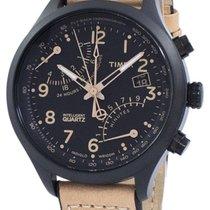 Timex Steel Quartz Black 43mm new