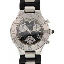 e286a25f9e4 Cartier Chronoscaph 21 2424 Mens Watch en venta por MX$ 42,960 ...