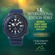 Seiko Prospex Steel 47.7mm Blue No numerals
