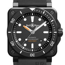 Bell & Ross Steel 42mm Automatic BR0392-D-BL-CE/ST new