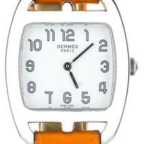 Hermès Cape Cod Steel 30mm White United States of America, Illinois, BUFFALO GROVE