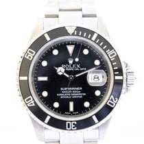 Rolex Submariner Date Steel 40mm Black No numerals United Kingdom, London