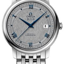 Omega De Ville Prestige Steel 39.5mm Grey United Kingdom, Wilmslow