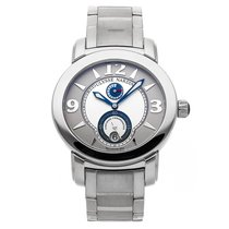 Ulysse Nardin Palladium Automatic Silver Arabic numerals 43mm pre-owned Macho Palladium 950