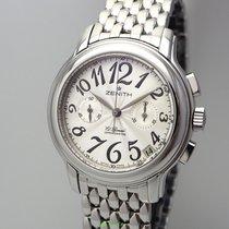 Zenith El Primero Chronomaster Lady Çelik 37.5mm Gümüş