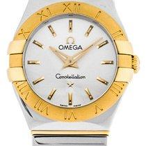 Omega Constellation Quartz 123.20.24.60.02.004 new