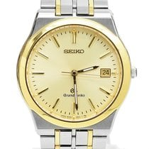 Seiko Ouro/Aço 37mm Quartzo 8N65-9000 usado